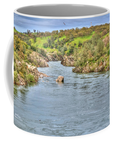 American River Coffee Mug featuring the photograph American River II by Diego Re