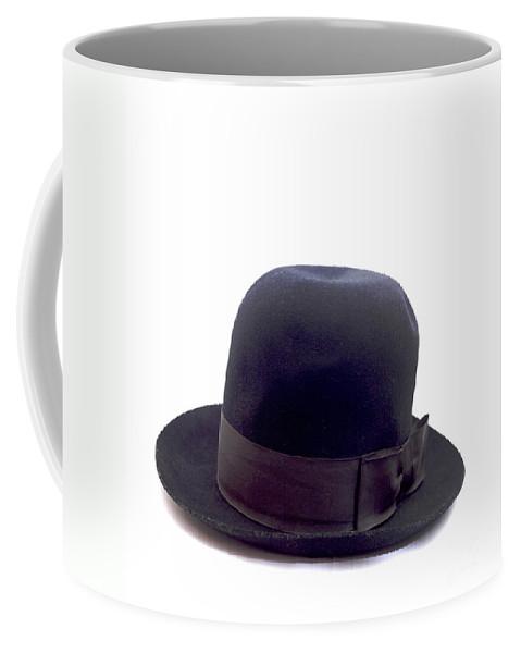 Simplicity Coffee Mug featuring the photograph An Old Hat For A Man by Bernard Jaubert