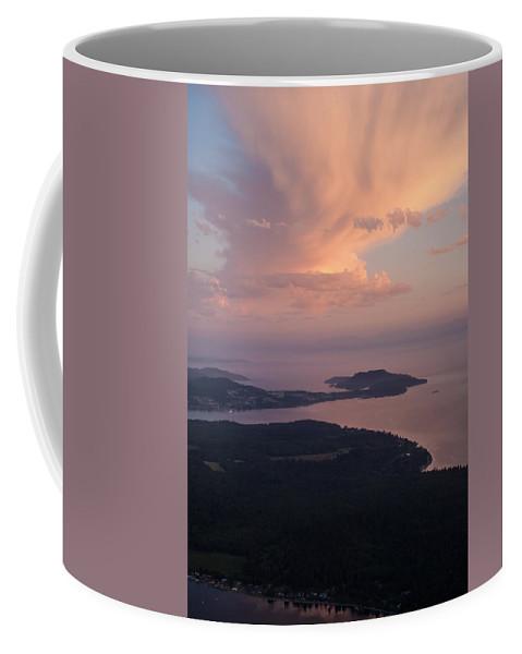 San Juan Islands Coffee Mug featuring the photograph Anacortes Thunder by Mike Reid