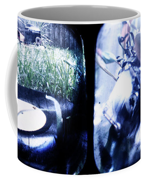 Cassette Coffee Mug featuring the photograph Analogue Massacre by Andrew Paranavitana