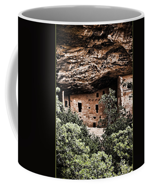 Anasazi Coffee Mug featuring the photograph Ancient Peoples by Karen Ulvestad