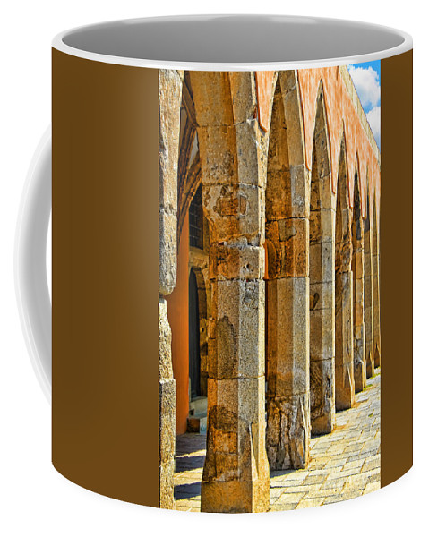 Ancient Thoughts Coffee Mug featuring the photograph Ancient Thoughts by Mariola Bitner