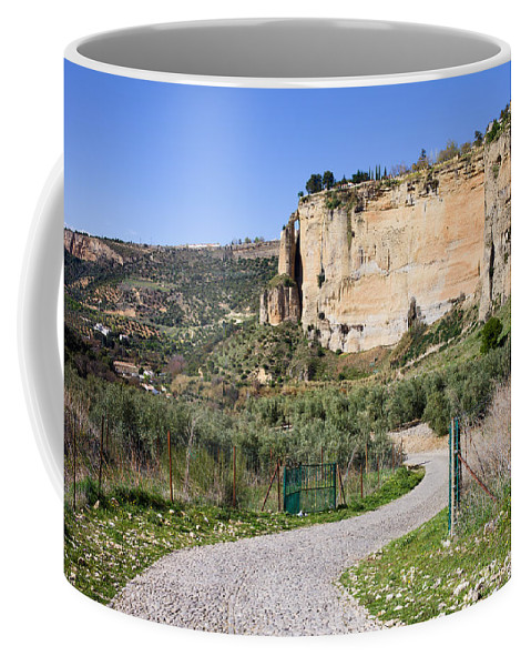 Andalucia Coffee Mug featuring the photograph Andalusia Countryside by Artur Bogacki