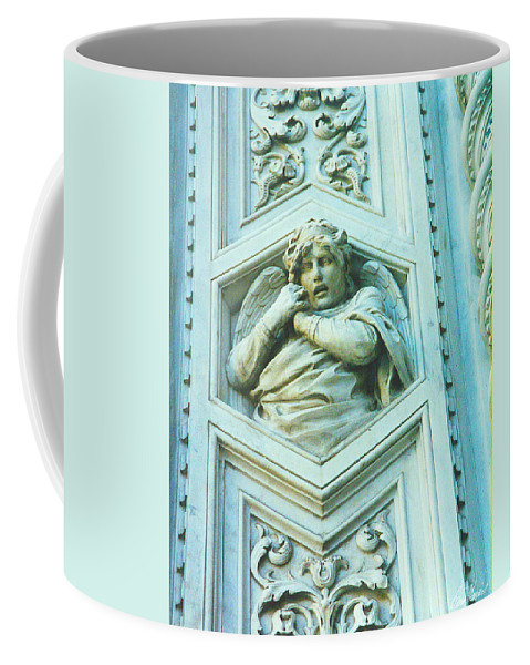 Angel Coffee Mug featuring the photograph Angel Of Florence by Diana Haronis
