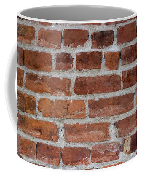 Brick Coffee Mug featuring the photograph Another Brick In The Wall by Heidi Smith