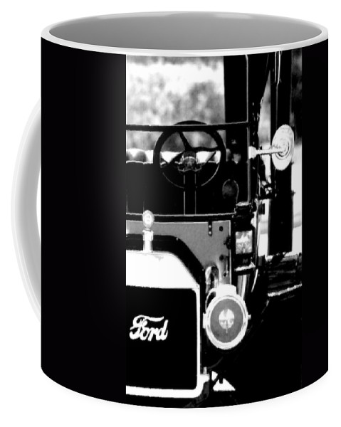 Ford Coffee Mug featuring the photograph Antique Ford by Floyd Menezes