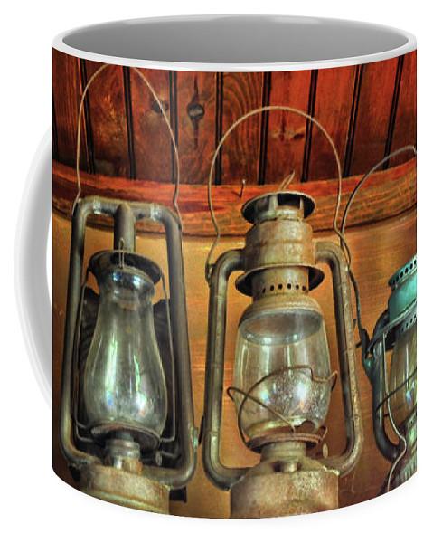 Antique Kerosene Lamps Coffee Mug