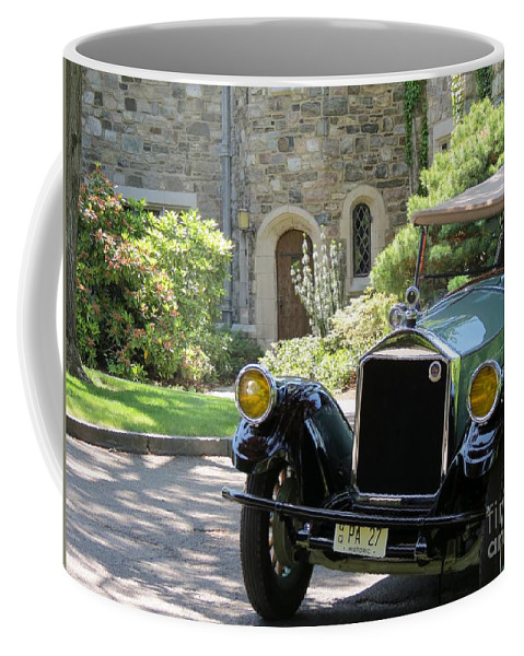 Model Coffee Mug featuring the photograph Antique by Art Dingo