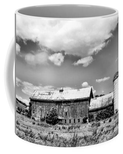 Black Coffee Mug featuring the photograph Antiquity by Art Dingo