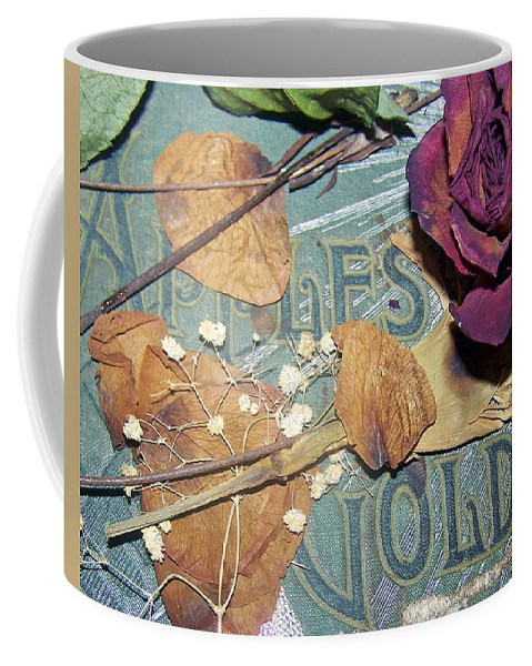 Vintage Coffee Mug featuring the photograph Vintage Apples Of Gold by Patricia Taylor