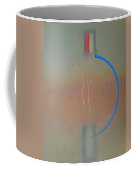 Arc Coffee Mug featuring the painting Arc by Charles Stuart
