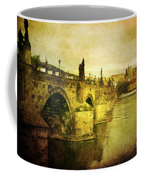 Andrew Coffee Mug featuring the photograph Archaic Charm by Andrew Paranavitana