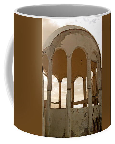 Bubble Houses Coffee Mug featuring the photograph Arches by Christine Stonebridge