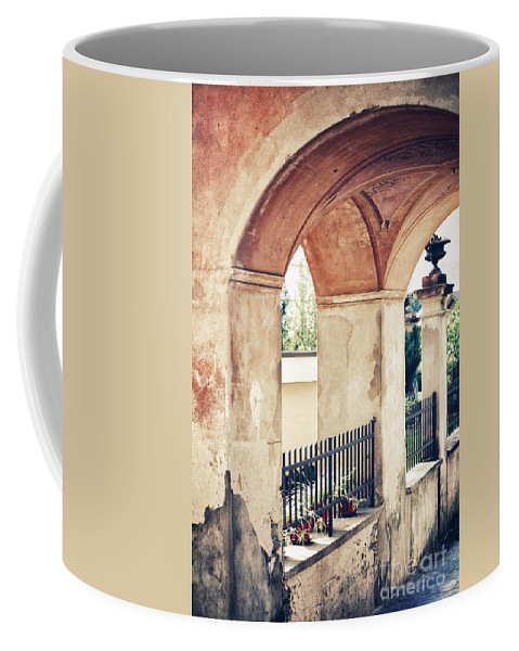Archway Coffee Mug featuring the photograph Archway by Silvia Ganora