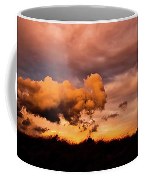 Cloud Coffee Mug featuring the photograph Armageddon by Michael Goyberg