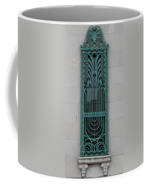 Art Deco Window Coffee Mug featuring the photograph Art Deco 11 by Andrew Fare
