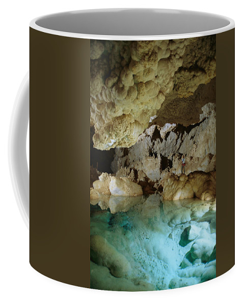 North America Coffee Mug featuring the photograph Art Palmer At Lake Of The Clouds by Stephen Alvarez