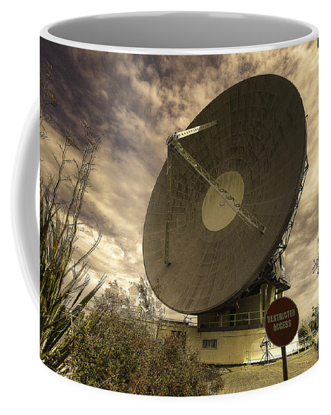 Goonhilly Coffee Mug featuring the photograph Arthur by Rob Hawkins