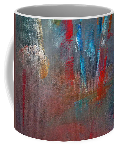 Colors Coffee Mug featuring the painting Ascent by Charles Stuart