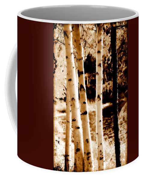 Chena Coffee Mug featuring the photograph Aspens S Ll by Kathy Sampson