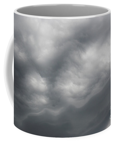 Asperatus Coffee Mug featuring the photograph Asperatus - Sky Before Storm by Michal Boubin