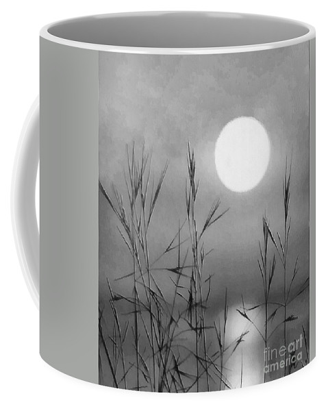 Full Moon Coffee Mug featuring the photograph At The Full Moon by Dragica Micki Fortuna