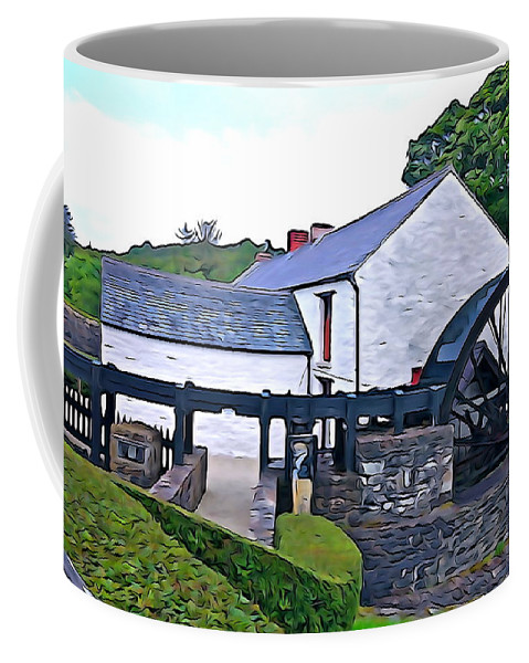 Old Coffee Mug featuring the photograph Auld Mill by Charlie and Norma Brock