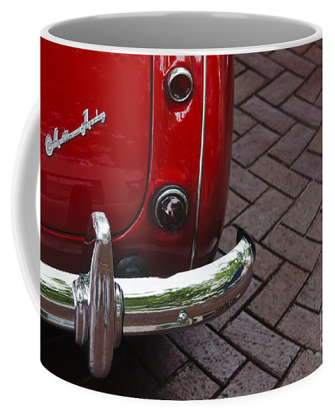 Austin Healey Coffee Mug featuring the photograph Austin Healey by Dennis Hedberg