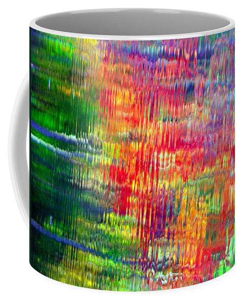 Autumn Colors Coffee Mug featuring the photograph Autumn Abstarcts by Optical Playground By MP Ray
