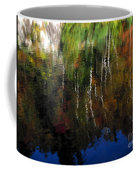 Autumn Coffee Mug featuring the photograph Autumn Reflections by Mike Nellums