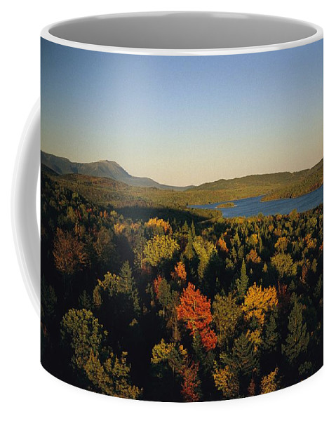 North America Coffee Mug featuring the photograph Autumn View Across Baxter State Park by Sam Abell