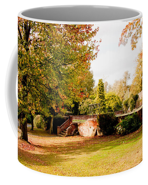 Avery Hill Coffee Mug featuring the photograph Avery Hill Rose Garden by Dawn OConnor