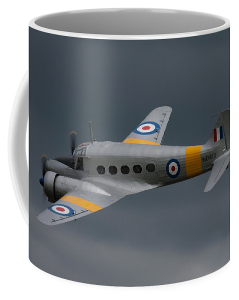 Avro Coffee Mug featuring the photograph Avro Anson 2 by Ken Brannen
