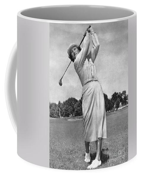 1950 Coffee Mug featuring the photograph Babe Didrikson Zaharias by Granger