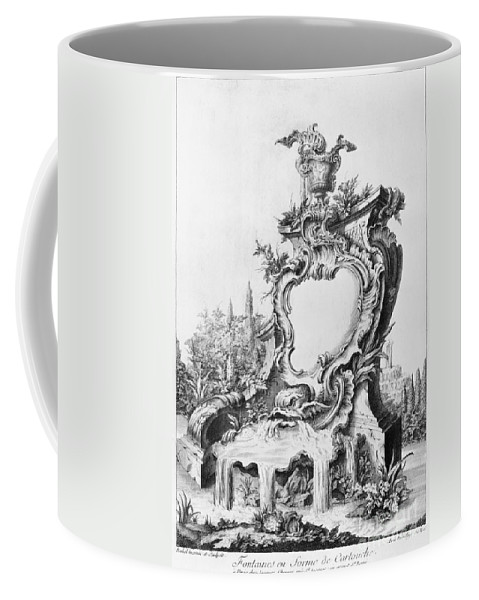1750s Coffee Mug featuring the photograph Babel: Fountain by Granger