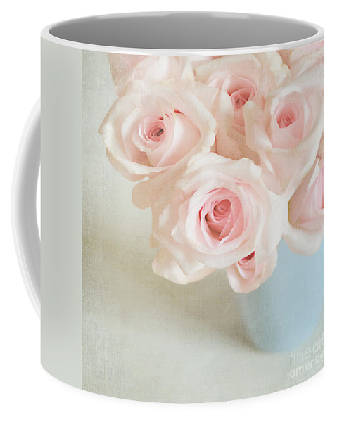 Roses Coffee Mug featuring the photograph Baby Pink Roses by Lyn Randle