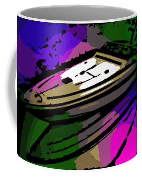 Baja Coffee Mug featuring the photograph Baja Speed Boat by George Pedro