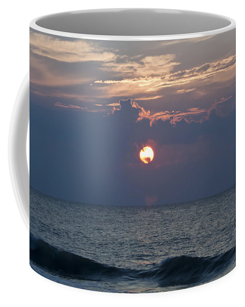Sunrise Coffee Mug featuring the photograph Ball Of Fire by Teresa Mucha