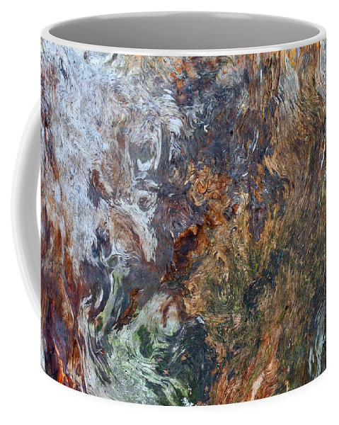 Bark Coffee Mug featuring the photograph Bark Abstract by Doris Potter