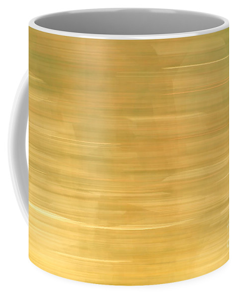 Yellow Coffee Mug featuring the photograph Barley And Hops by Glenn Gordon