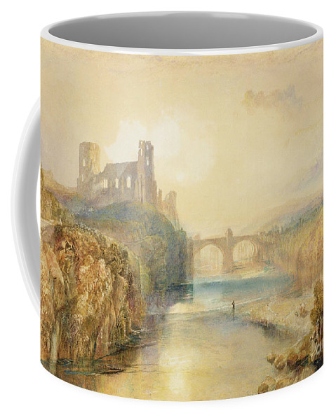 Barnard Coffee Mug featuring the painting Barnard Castle by Joseph Mallord William Turner