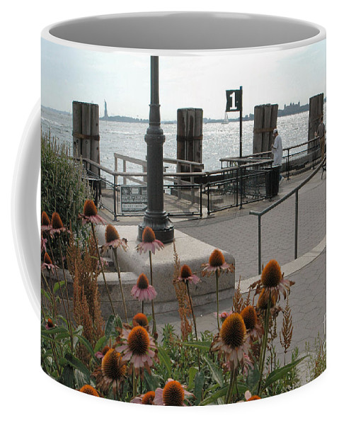 Battery Park Coffee Mug featuring the photograph Battery Park by Mark Gilman