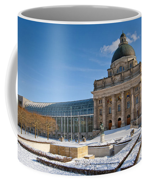 Affairs Coffee Mug featuring the photograph Bavarian State Chancellery by Andrew Michael