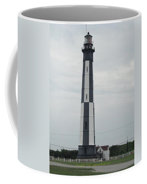 Chesapeake New Lighthouse Coffee Mug featuring the photograph Bay Lighthouse by Sonali Gangane