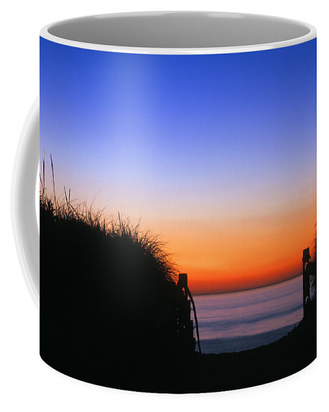 cape Cod Coffee Mug featuring the photograph Beach Sunrise by John Greim