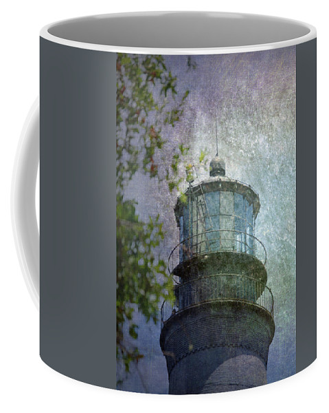Beacon Coffee Mug featuring the photograph Beacon Of Hope by Judy Hall-Folde