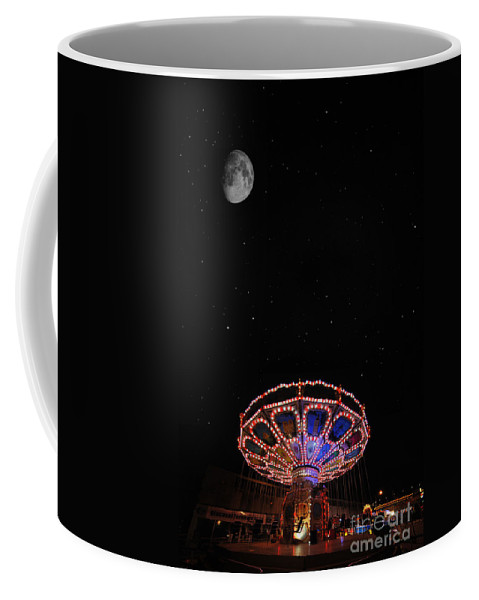 Yhun Suarez Coffee Mug featuring the photograph Beam Me Up by Yhun Suarez