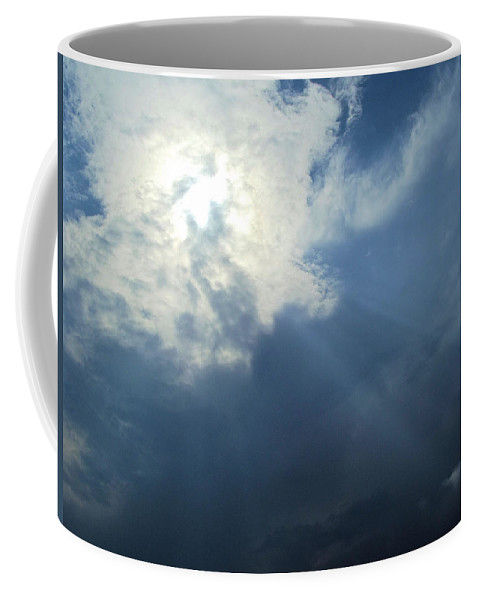 Sunbeams Coffee Mug featuring the photograph Beautiful Beams by Jennifer Stockman