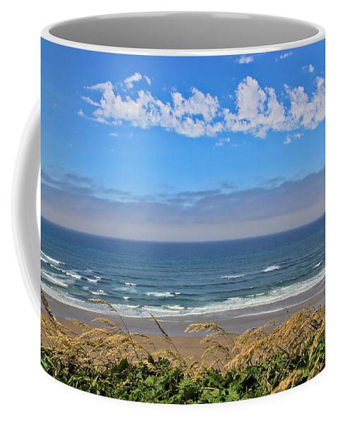 Beach Coffee Mug featuring the photograph Sunshine Beach by Athena Mckinzie