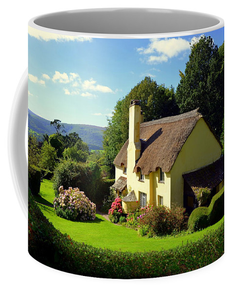 Selworthy Coffee Mug featuring the photograph Beautiful Selworthy by Carla Parris